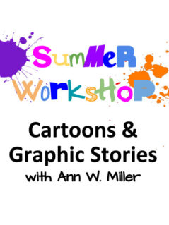 Cartooning Class with Ann Miller