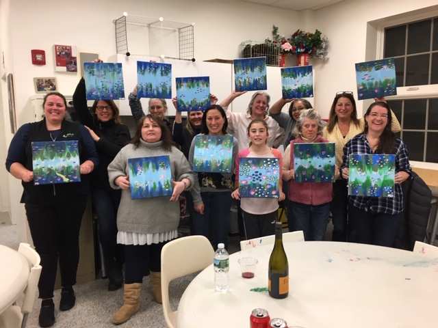 Sip 'N Paint was Fun!