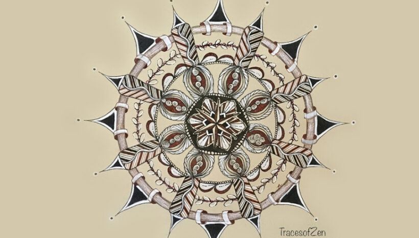 Everyone Loved Zentangle with Tracy Lake on October 25