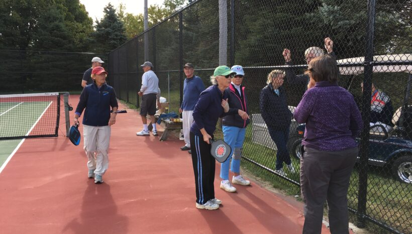 Pickleball Round Robin was a great success!