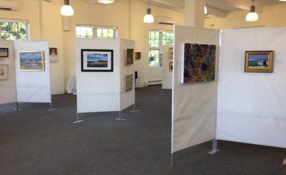Fishers Island Art Show & Quilt unveiling
