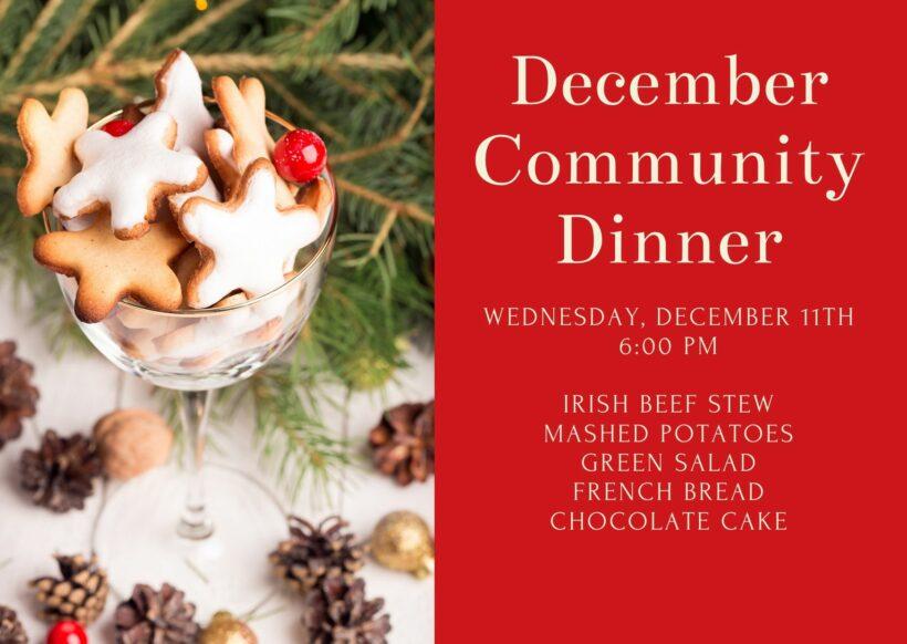 December Community Dinner