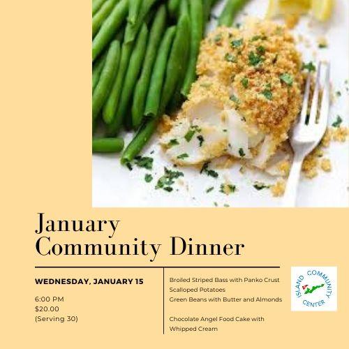 January Community Dinner